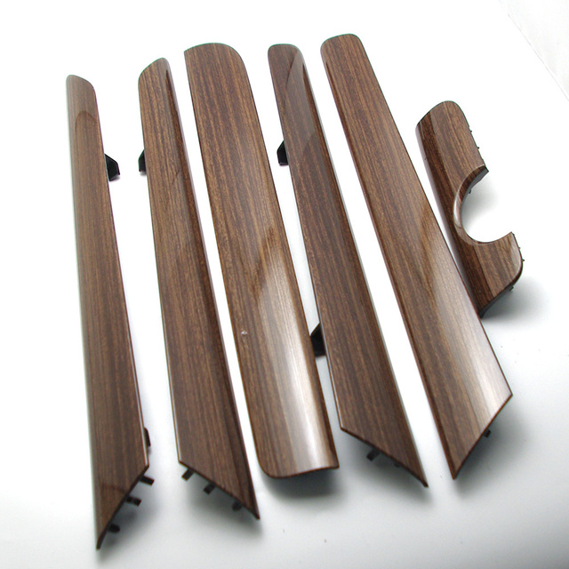 OEM 6Pcs Door Panel Dash Trim Set Wood Color for VW Vento Jetta MK6 TDI NEW 16D 858 415 SG9 16D858415SG9