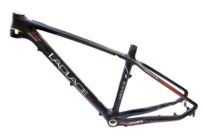 LAPLACE Storm high-quality carbon fiber mountain bike frame carbon frame cadre carbone ems shipping 27.5 inch