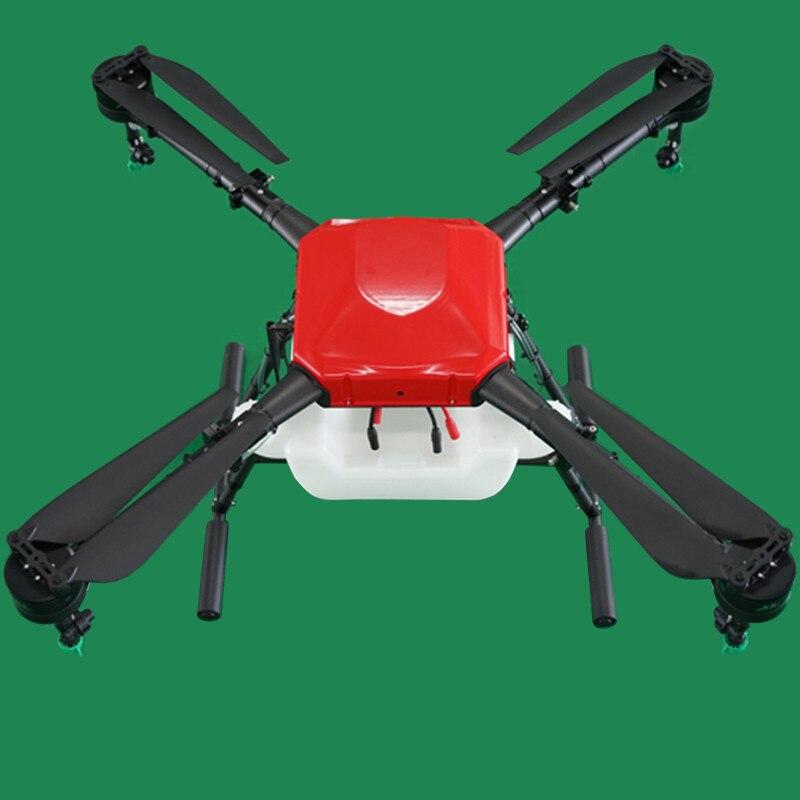 Aerops 10L 10 кг полезной нагрузки 4 оси сельскохозяйственных БПЛА Drone Multirotor Запчасти для воды пестицидов орошение распыления (в разобранном виде)