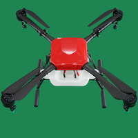 Aerops 10L 10kg Payload 4 Axis Agricultural UAV Drone Multirotor Parts for Water Pesticide Irrigation Spraying(unassembled)