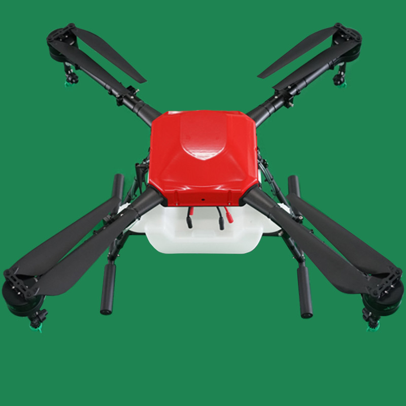 Aerops AP4-10B 10L 10kg Payload 4 Axis Agricultural UAV Drone Multirotor for Water Pesticide Irrigation Spraying