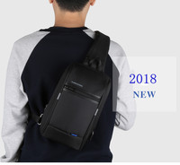 NEW USB interface Charge tablet Chest   Bags   Men's Crossbody Single Shoulder Strap   Bags   Small Exquisite Messenger Fashion KS3174