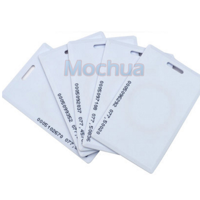 EM4100 Long Distance RFID Thick Card, 125khz Read Only Clamshell Card, 125khz Thick Card