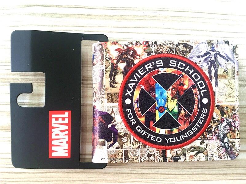 2018 Super Hero X-Men Reversed The Future Marvel Wallet Europe Fashion Design DC Men Wallets Dollar Price Purse Clutch W333 marvel platinum the definitive x men reloaded
