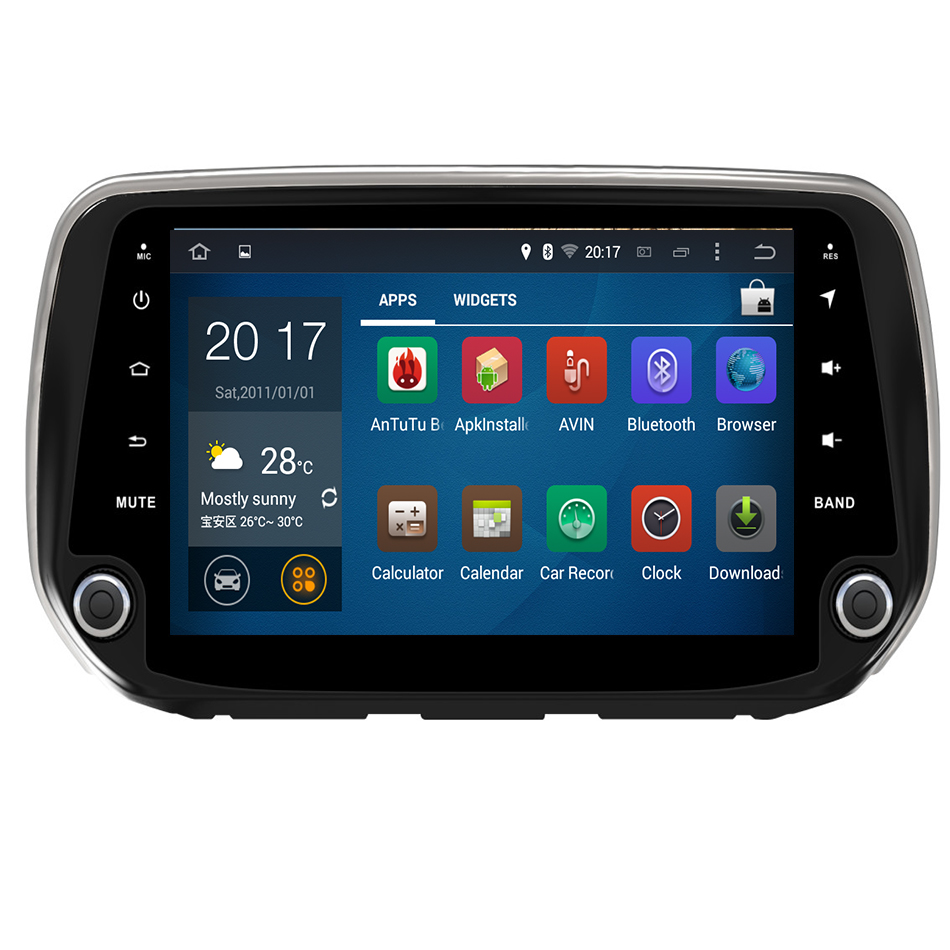 <font><b>2</b></font> <font><b>din</b></font> Android Radio Car DVD Player for Hyundai Santa Fe 2019/Hyundai Tucson 2019 Car Head Unit Car <font><b>GPS</b></font> DVD <font><b>Autoradio</b></font> Multimedia image