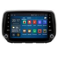 2 din Android Radio Car DVD Player for Hyundai Santa Fe 2019/Hyundai Tucson 2019 Car Head Unit Car GPS DVD Autoradio Multimedia