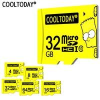 COOLTODAY High Quality Guarantee Carte SD Micro SD Card Microsd 32GB 16GB 8GB Flash Memory Card
