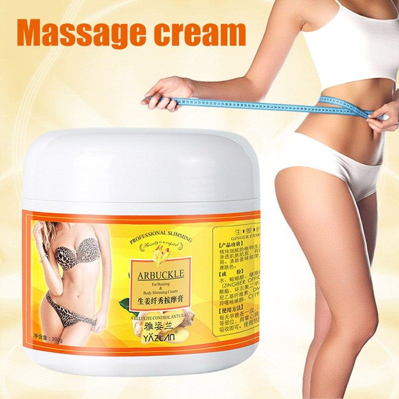 Имбирный крем для похудения всего тела антицеллюлитный крем для формирования тела 300 г жир быстрое сжигание Увлажняющий Укрепляющий крем д...