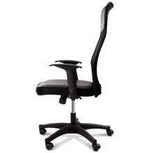 Computer Chair Mesh Office Rotating Seat Home Lift Black 87083