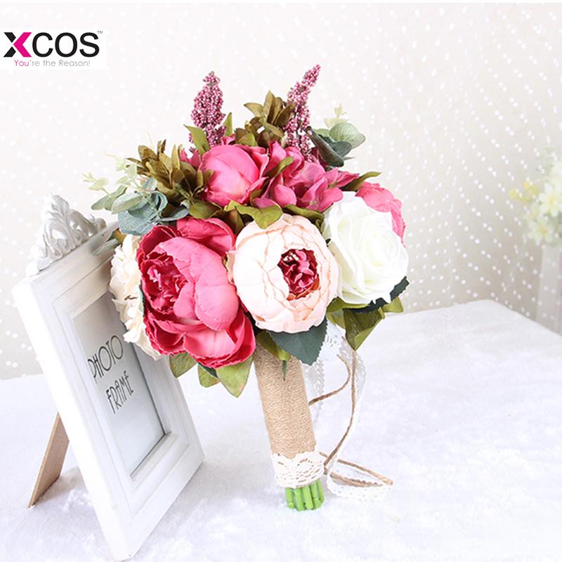 Inexpensive Flowers For Wedding Bouquets: New Arrival 2018 Flores Artificiales Wedding Flowers