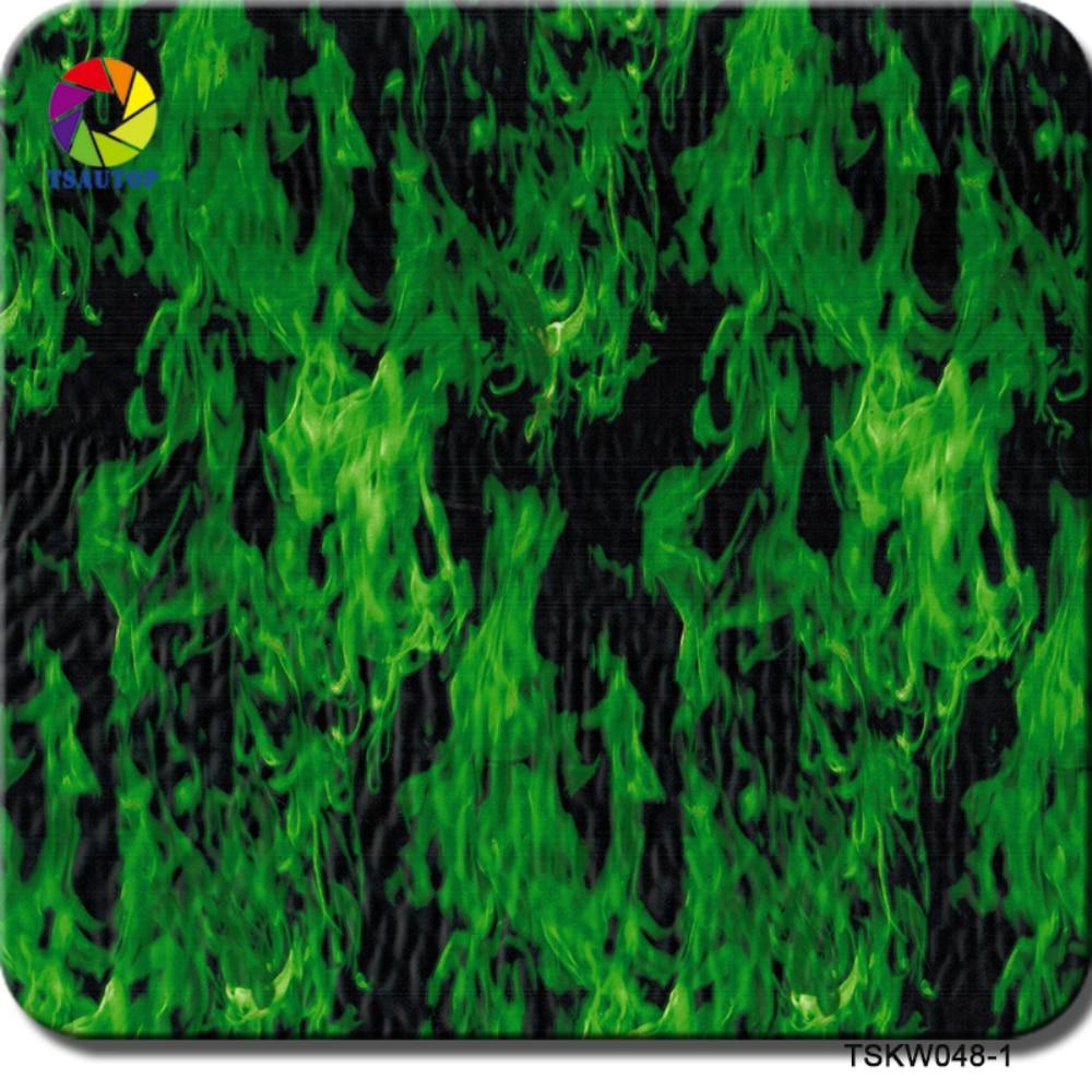 TSAUTOP Grootte 0.5m x 2 m/10 m water transfer printing kit aquaprint film hydro dompelen kit WDF048-1