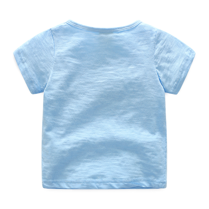 Baby-Casual-Short-Sleeve-T-Shirt-2017-Summer-Male-Kids-ChildrenS-Clothing-Boys-O-Neck-Top-Basic-Shirt-Free-Shipping-1