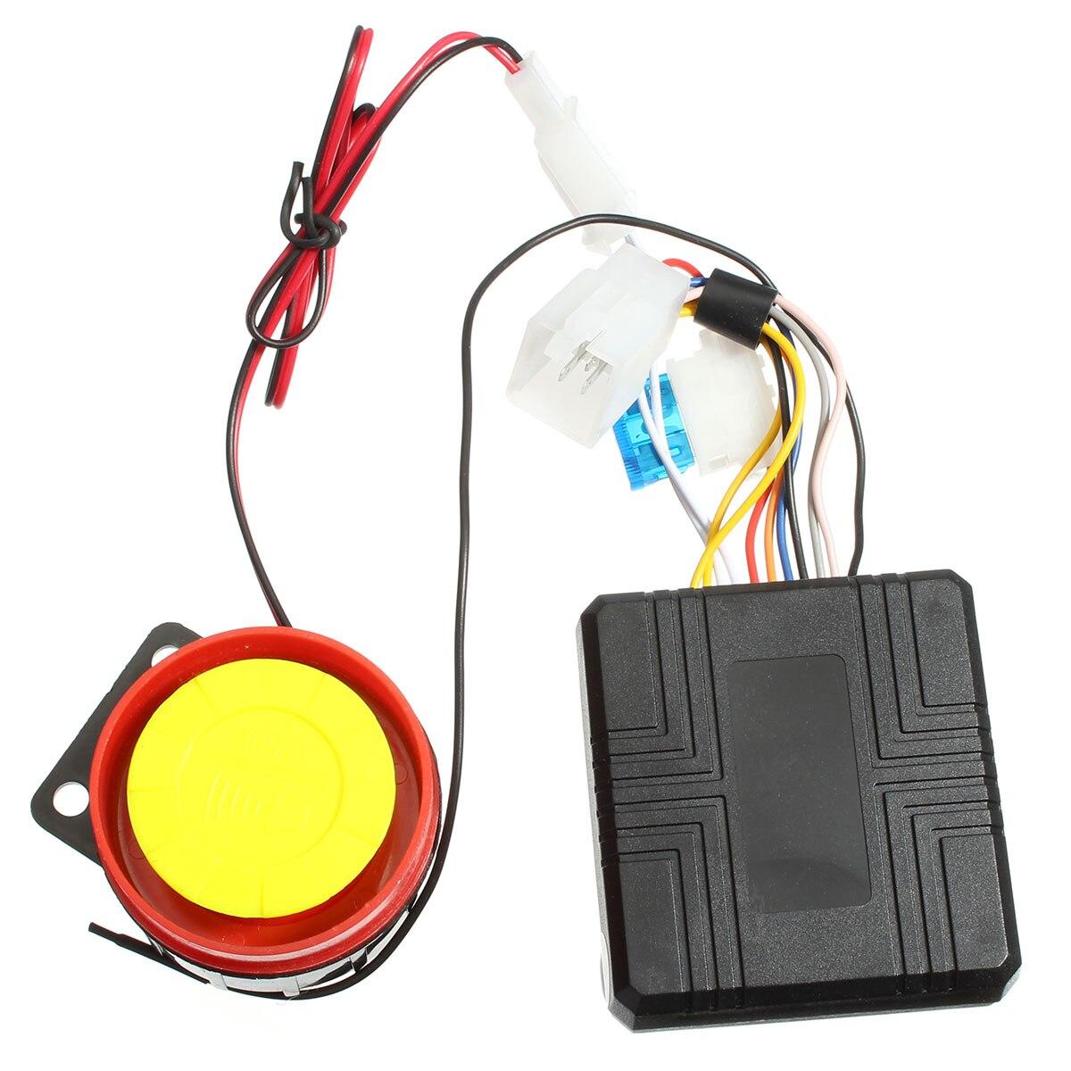 Универсальные системы сигнализации для мотоцикла, Противоугонная защита, дистанционная активация, аксессуары для мотоциклетной сигнализа...