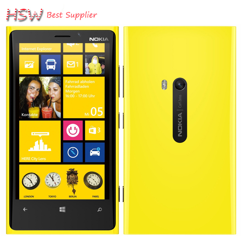Original Phone Nokia Lumia 920 4 5 Touch Wifi NFC Gps 3GB 4G 32GB Storage 8MP