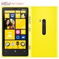 Original del teléfono nokia lumia 920 4.5 ''táctil wifi gps nfc 3 gb 4G Cámara de 8MP 32 GB De Almacenamiento Abierto de Windows del teléfono Celular del Envío Gratis