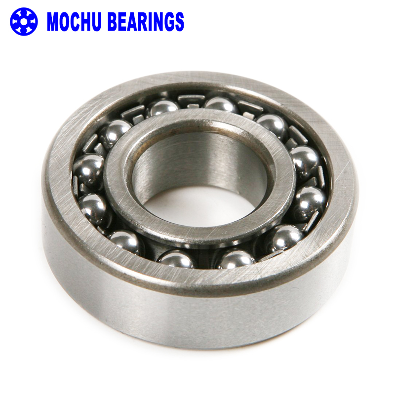 цены  1pcs 1212 1212K 60x110x22 111212 MOCHU Self-aligning Ball Bearings Tapered Bore Double Row High Quality