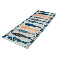 נגד החלקה הטובה רצפת שפשפת שטיח שטיח מחצלת כרית משרד פן מטבח שטיח 120x45 ס