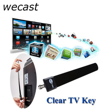Mini Digital Antenna Clear TV Key HDTV Free Stick TVFox Indoor Antenna 1080p Ditch Cable As Seen on TV Signal For US EU Plug