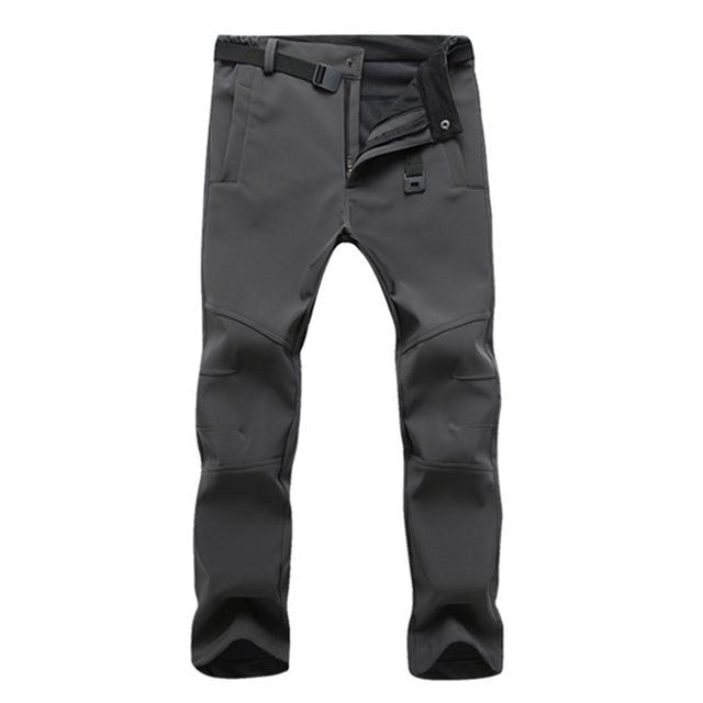 Pants Casual Winter Thick Warm Fleece Trousers Male Windbreaker Sweatpants Mens Tactical Pants