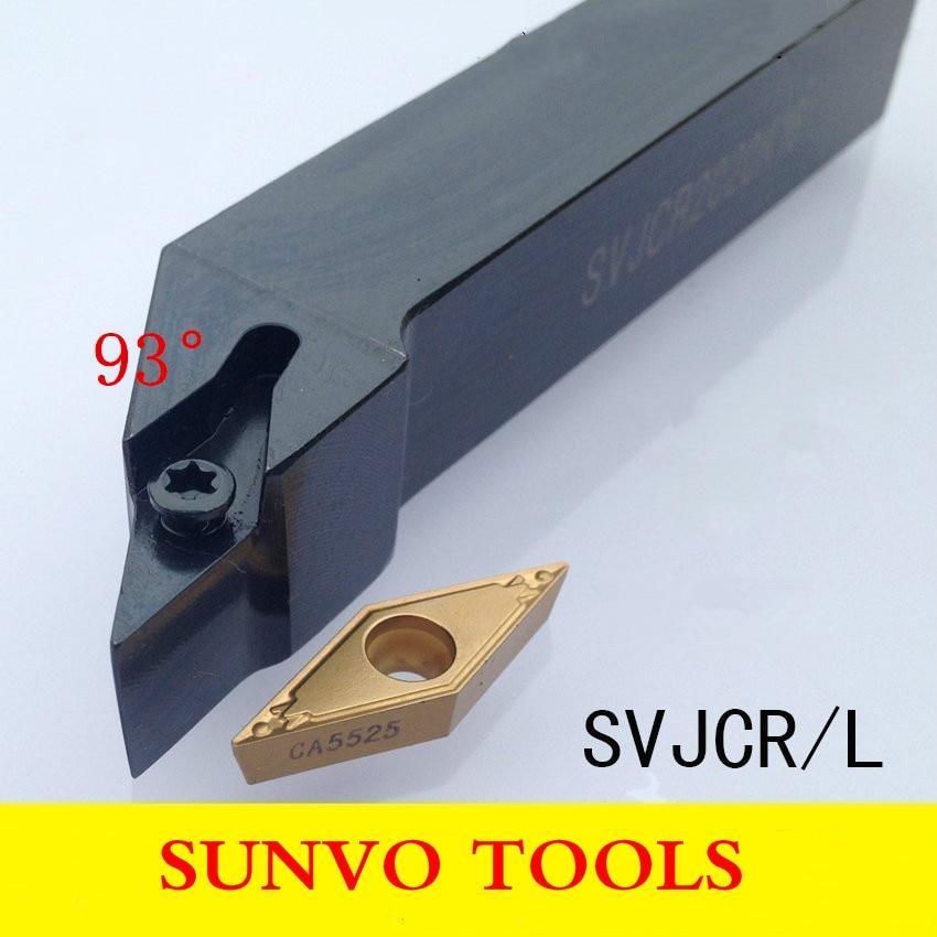 SVJBR/SVJBL 1212H11/1010H11 Use Carbide Insert VCBT VCMT VCGT 110304/110308/160404/160408 External Turning Tools Holder