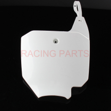 Front Number Plates For CRF 150R CRF150R Dirt Pit Bike Motocross Motorcycle free shipping