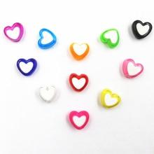 Ювелирные изделия 150 Piece/Lot Acrylic Heart