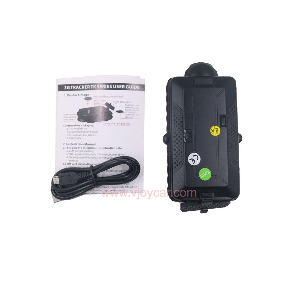 VJOYCAR TK05G Kinija Geriausi GPS sekimo įrenginiai 3G 4G SD - Automobilių Elektronika - Nuotrauka 5