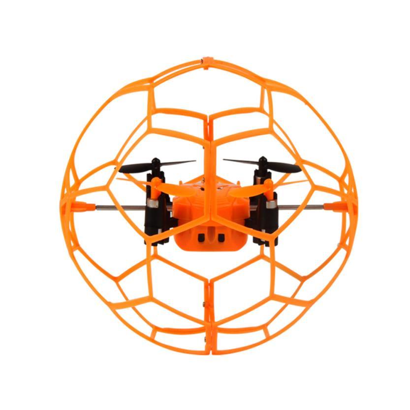 Mini Drone Helic Max Ciel Marcheur 1340 2.4 GHz 4CH Fly balle RC Quadcopter 3D Flip Rouleau sans tête Drone RC Hélicoptère jouets
