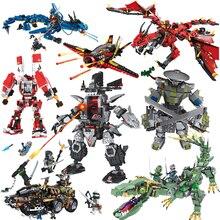 Пожарный Дракон человек роботы Друзья серии строительные блоки совместимы с крупными брендами кирпичи модельные Фигурки игрушки для детей