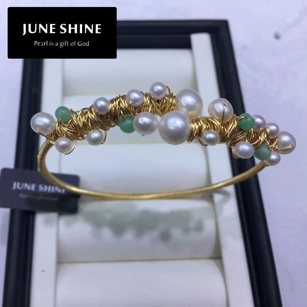 Bracelet de perles d'eau douce BRA003, taille réglable, bracelets