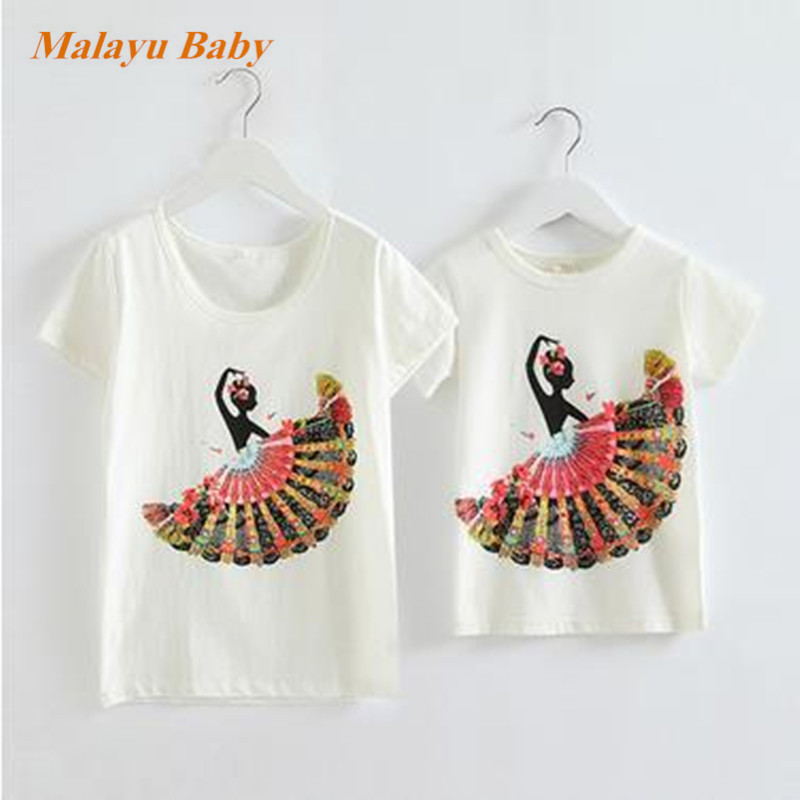 2015 New Summer Girl T shirt Children T shirts with Fan Print Kids T-shirt Girls Clothes Baby Girl Minion Tops
