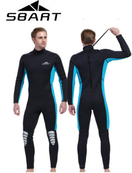 SBART Neoprene 3MM Wetsuits Men & Women Surfing Scuba Diving Suit Spearfishing Swimming Wetsuits Full Body Swimsuit sbart upf50 806 xuancai
