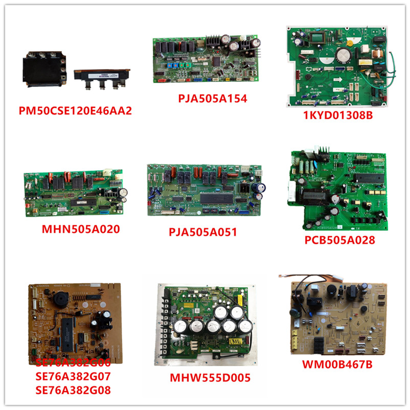 PM50CSE120E46AA2/ PJA505A154/ 1KYD01308B/ MHN505A020/ PJA505A051 PCB505A028/SE76A382G06/ MHW555D005/ WM00B467B Used Good Working