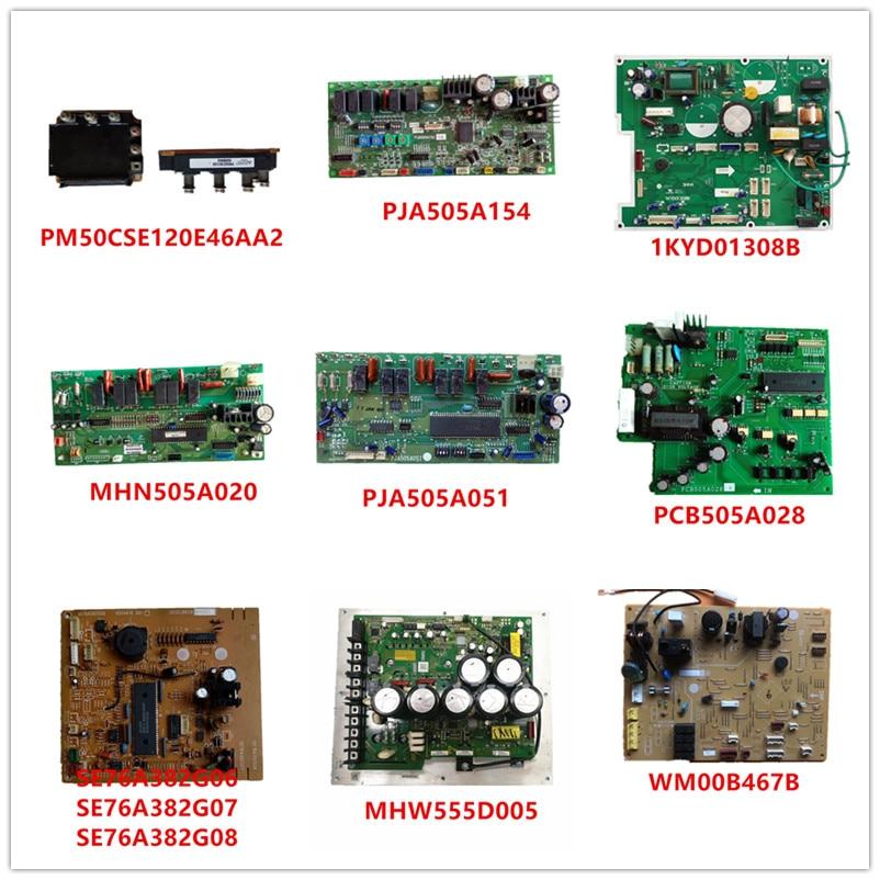 PM50CSE120E46AA2/ PJA505A154/ 1KYD01308B/ MHN505A020/ PJA505A051 PCB505A028/SE76A382G06/ MHW555D005/ WM00B467B Used Good Working