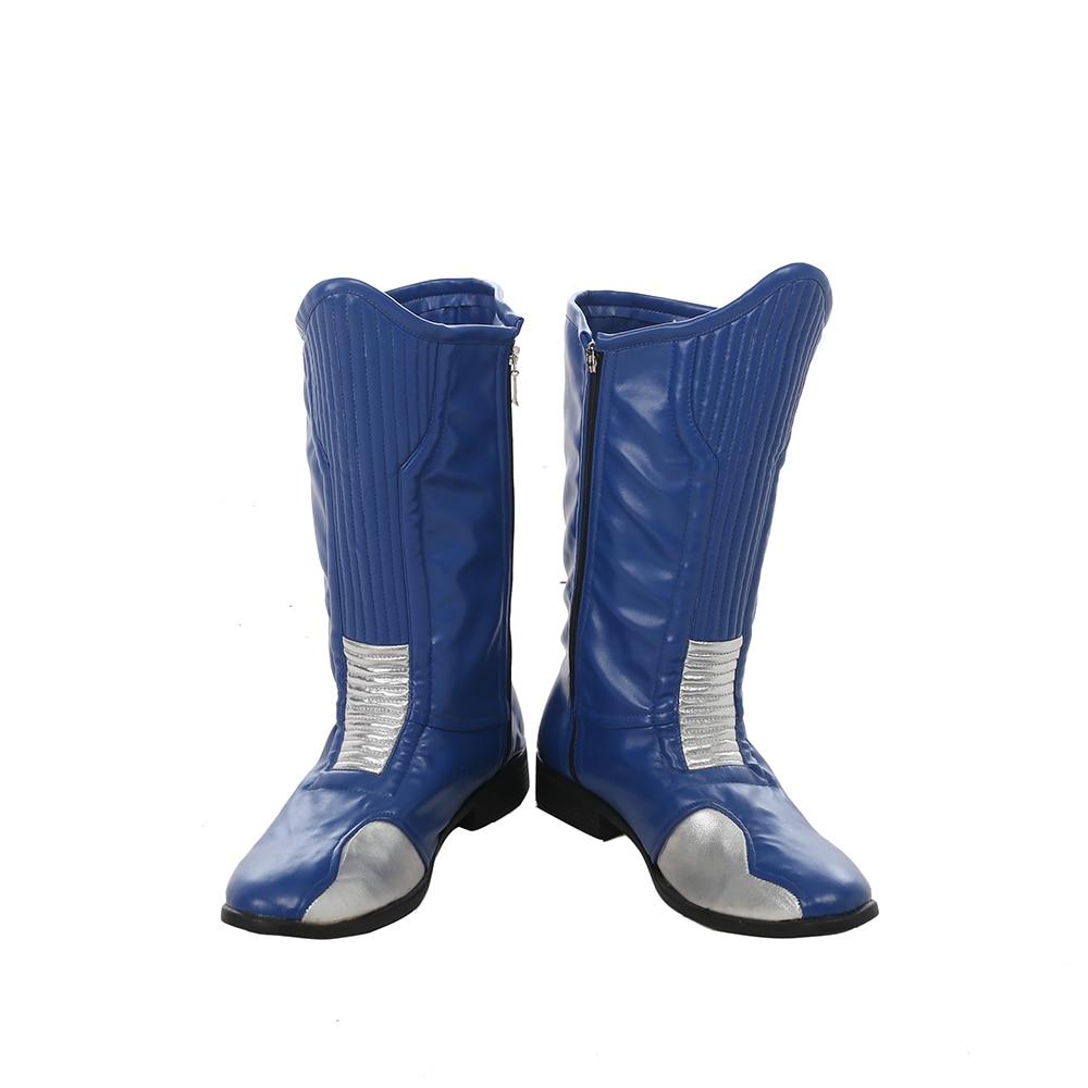 bleu Chaussures Flash Wally Super avenir héros West Cosplay 7g6fyvYb