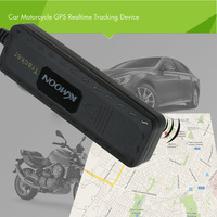 GT02 GPS Realtime Tracker Car Motorcycle Tracking Device System GSM GPRS Locator