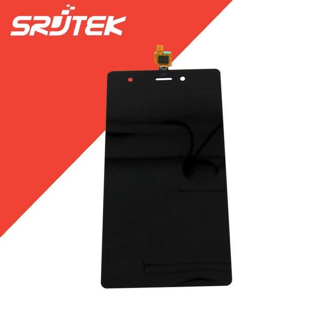 Для Wiko Pulp Fab 4G ЖК-Дисплей с Сенсорным Экраном Дигитайзер Панели Ассамблея 5.0 дюймов 1280*720