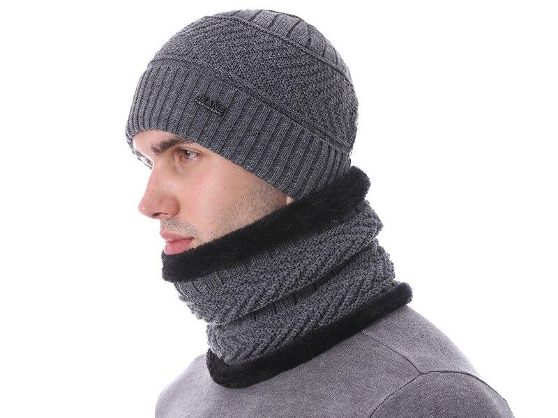 قبعات مع وشاح للرجال 2