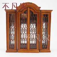Dollhouse 1/12 scale miniature furniture Hand Carved Combined display cabinet
