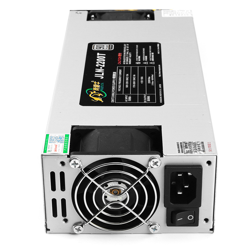 Powerful Mining Power Supply 2200W BTC APW3++ PSU For Bitcoin ETH Antminer S9 S7 L3+ US Battery Power Supply Charger btc 6411