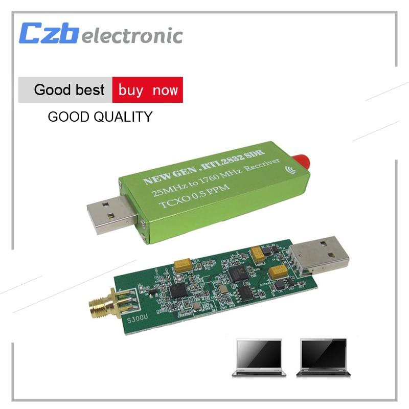 Premium USB Dongle R820T2 RTL2832U RTL-SDR w/ 1PPM TCXO TV Tuner Stick Receiver