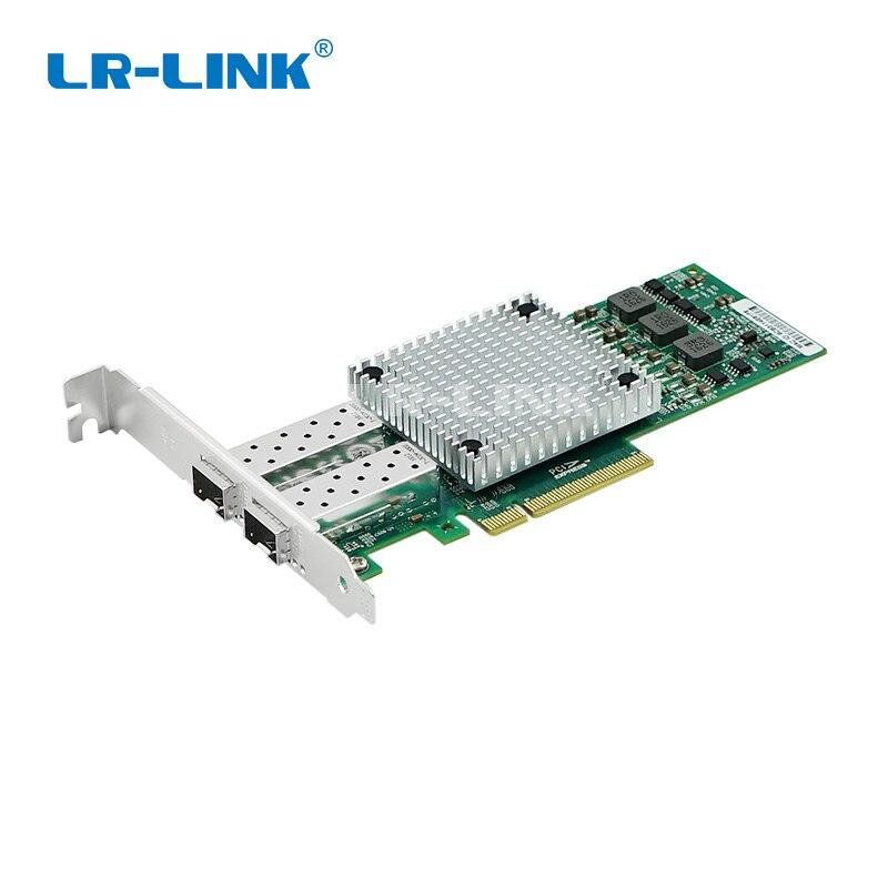 LR-LINK 9812AF-2SFP + 10 ГБ волокно оптический ethernet адаптер двойной порты и разъёмы PCI Express сети lan плата Broadcom BCM57810S Nic