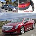 Auto Car frente Lip Deflector labios rojos falda para Cadillac CTS CTS-V / chasis cuerpo Side Protection / Spoiler para el coche Surround