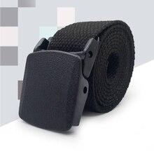Мужской ремень нейлоновый тканевый ремень военный уличный тактический ремень армейский Стиль Cinturon мужские ремни для мужчин Роскошные ceinture tissu homme