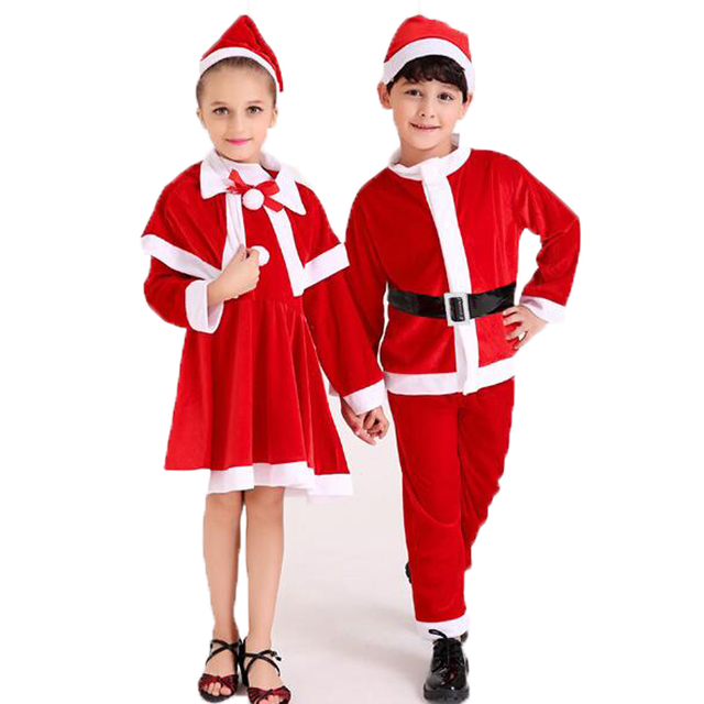 Christmas Clothes Boys Girls Children's Christmas Costume Baby Boy Girl  sets Santa Claus Clothing set costumes - Christmas Clothes Boys Girls Children's Christmas Costume Baby Boy