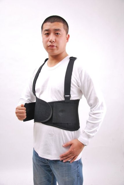 HOT SALES ITEM!Industrial working safty back support belt with straps--FDA&CE.Say goodbye to back &lumbar stiffness and stress