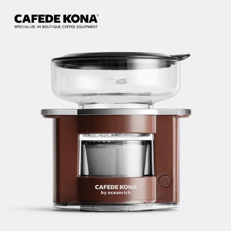 CAFEDE KONA Automatic Coffee Maker Coffee Pot Mini