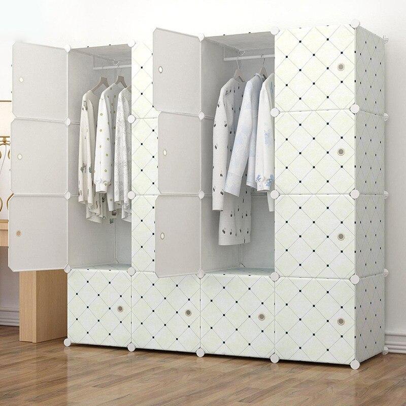 пластиковые поделки складной шкаф ребенок шкаф шкаф дети стальная рама шкаф для одежды 60л/куб