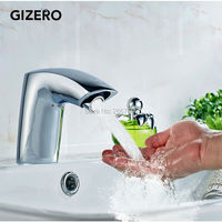 Free Shipping New Chrome Hotel Toilet Sensor Faucet Bathroom Touchless Water Faucet Tap Infrared Sensor Tap