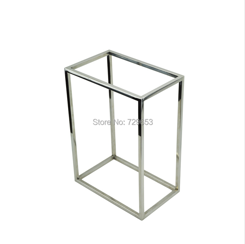 Small Exhibition Stand Sizes : Pcs multi function mirror surface stainless steel display
